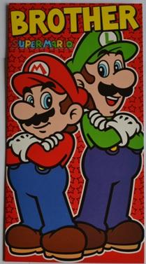 Super Mario Verjaardagskaart voor Broer