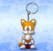 Tails Anti Stress Sleutelhanger `Squeeze`