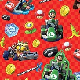 Super Mario Inpakpapier (2 Vellen)