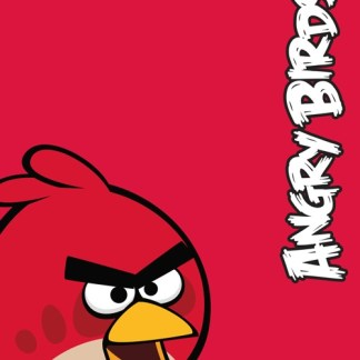Angry Birds Red Bird Fleece Deken