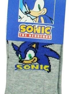 Sonic Sokken Grijs