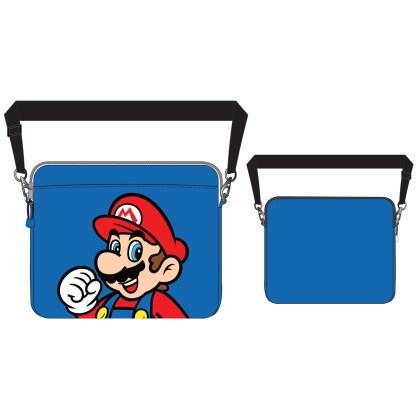 Mario Laptop Tas Blauw