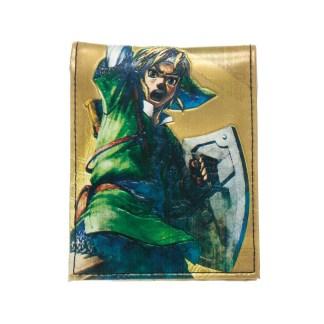 Zelda Golden Bifold Wallet