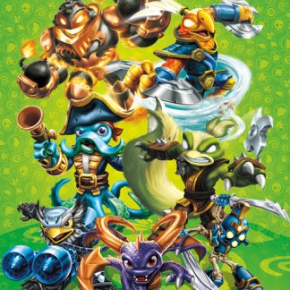 VC1586 Skylanders Swap Force Group Miniposter