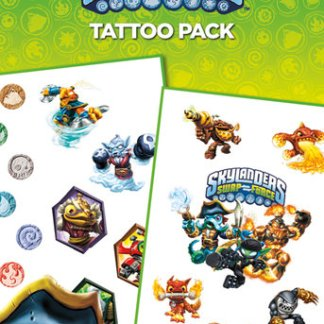 VC0129 Skylanders Swap Force Tattoo Pack