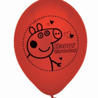 Peppa Party Ballonnen