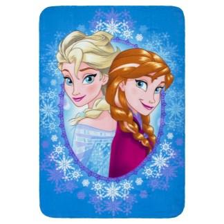 Disney Frozen Fleece Deken Winter Magic Blauw 100 x 140cm