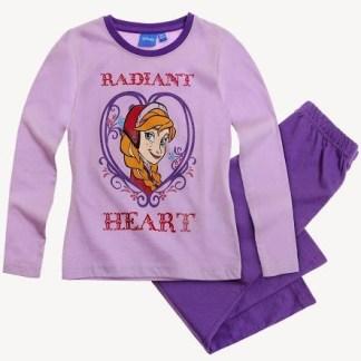 Frozen Pyjama Paars Radiant Heart Maat 104