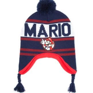 Mario Blue Laplander Beanie