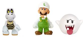 Microset Fire Luigi- Dry Bones - Boo 2cm