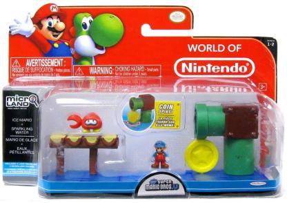 Ice Mario + Sparkling Water
