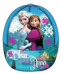 """Disney Frozen Caps """"Anna en Elsa"""" blauw maat 54"""