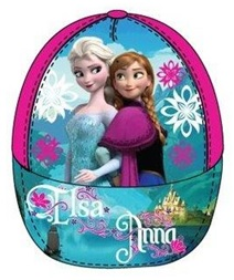 """Disney Frozen Caps """"Anna en Elsa"""" roze maat 52"""