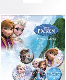"Frozen Brosjes mix ""6 pack"""