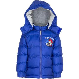"Super Mario Winterjas ""blauw"" 3 Jr."