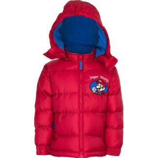 "Super Mario Winterjas ""rood"" 4 Jr."