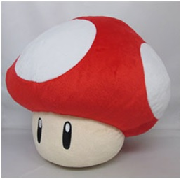 Nintendo Super Red Mushroom Knuffel 35cm