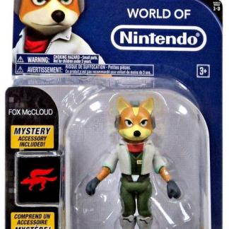 "World of Nintendo Serie 3 Action Figure ""Fox Mc Cloud 10 cm"""