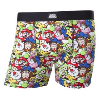 Super Mario Boxer All Over Print Extra Large