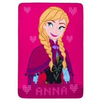 "Disney Frozen Fleecedeken ""Anna"" Roze 100 x 140cm"
