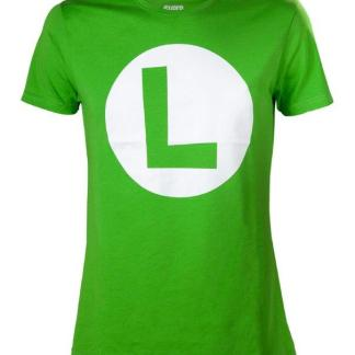 "Luigi T-Shirt With Big L ""maat XL"""