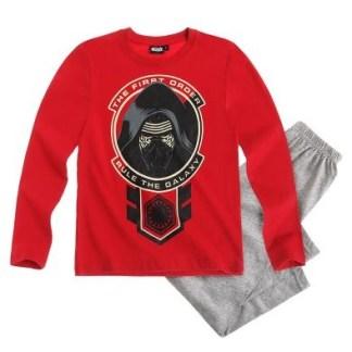 "Star Wars-The Clone Wars Pyjama grijs-rood ""maat 140"""