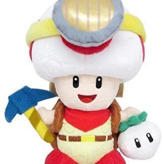 Nintendo Captain Toad knuffel 23cm