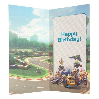 """Mariokart 8 """"6 today Dream On! verjaardagskaart"""""""