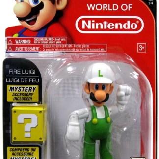 """Fire Luigi actie figuur 10 cm """"met mysterie box"""""""