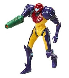 "Gravity suit samus actie figuur 10cm ""met mysterie box """
