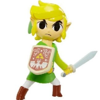 "Link Legend of Zelda figuurtje 6cm ""world of Nintendo"""