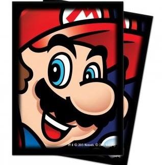 Super Mario kaart beschermers ( 10 stuks)