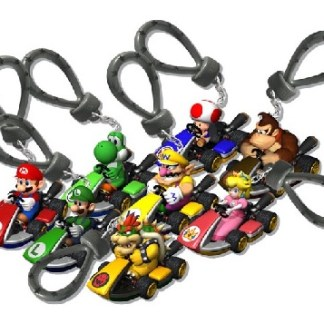 Nintendo - super mario kart 8 sleutelhanger in een verrassingspakketje!
