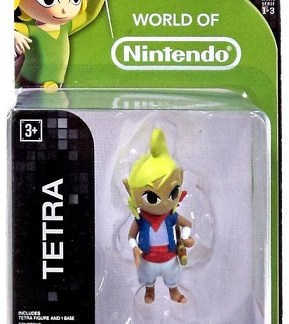 "Tetra Legend of Zelda figuurtje 6cm ""world of Nintendo"""
