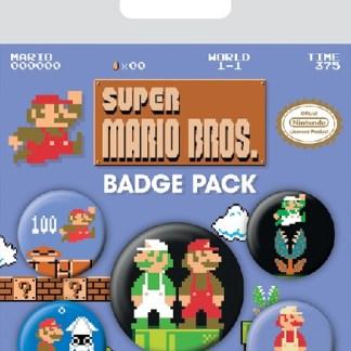 """Super Mario Brosjes """"nieuw"""" retro"""
