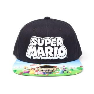 Nintendo - Super Mario snapback cap met print!
