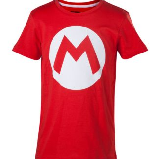 NINTENDO - Kids T-shirt Mario Boys Big M