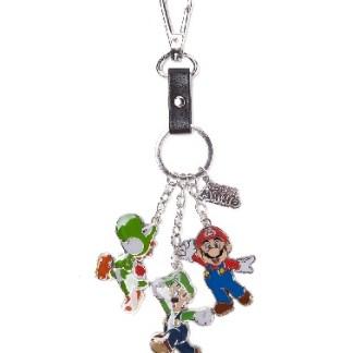 sleutelhanger Super Mario, Luigi en Yoshi