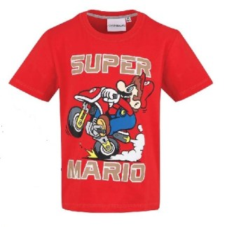 Nintendo - Super Mario T-shirt Ready To Go rood