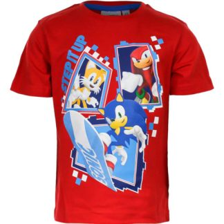 Sonic T- shirt Rood