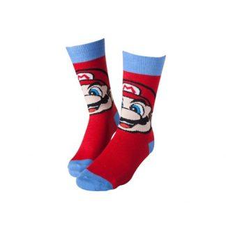 Nintendo -Super Mario sokken rood/blauw maat 39-42