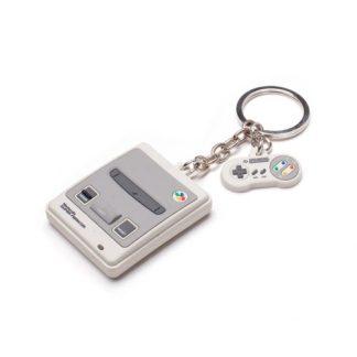NINTENDO - Snes 3D Rubberen Sleutelhanger grey