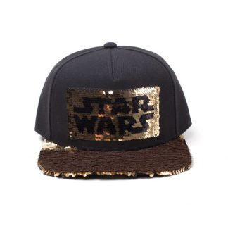 STAR WARS - LOGO SEQUINS SNAPBACK - CAP