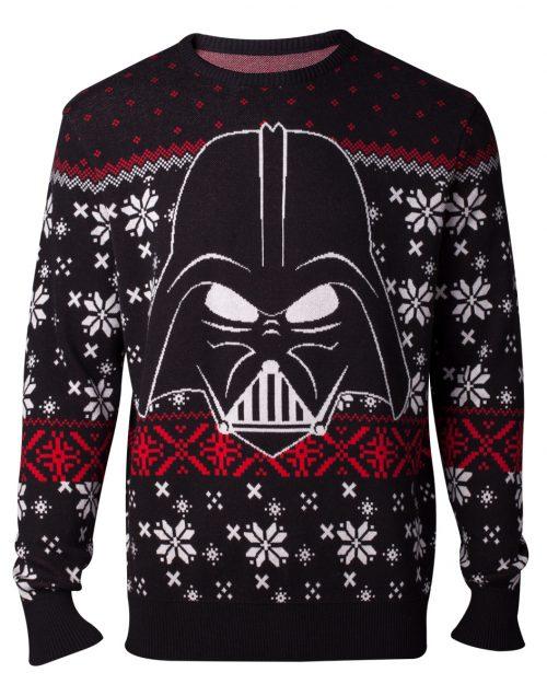 Disney Kersttrui.Star Wars Darth Vader Multicolour Gebreide Kersttrui