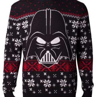 Frozen Kersttrui.Star Wars Darth Vader Multicolour Gebreide Kersttrui