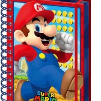 Nintendo - Super Mario Mario - A5 3D Lenticular Notitieboek