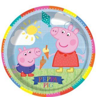 Peppa Pig - Peppa borden Party 8 stuks per verpakking