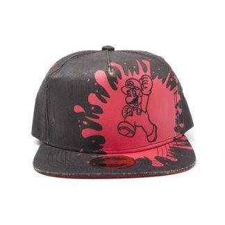 Super Mario - MARIO CAP BLACK CORK SNAPBACK