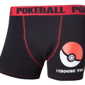 POKÉMON - POKÉ BALL BOXERSHORT BLACK