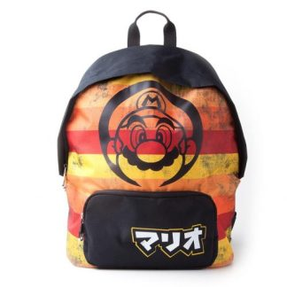 NINTENDO - SUPER MARIO RETRO STRIPED BACKPACK - RUGTAS